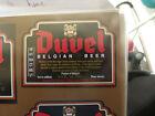 VINTAGE BELGIUM BEER LABEL. MOORTGAT BREWERY - DUVEL BELGIAN ALE 33 CL
