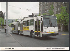 American Transport Postcard - Articulated Dual Power Coach, Seattle  A8262