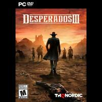 NEW PC game Desperados III rated mature WILL SHIP TOMORROW