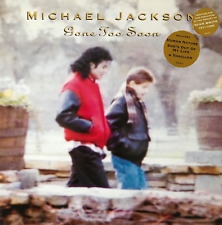 """Michael Jackson-ido demasiado pronto (12"""") (EX +/EX) (3)"""