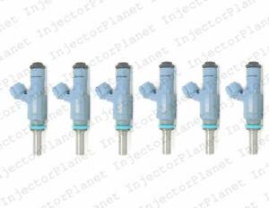 Set of 6 Bosch 0280157012 fuel injector 2004 Volkswagen Golf 3.2L V6 022906031J