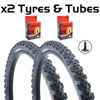 "24"" x 1.95"" Tyres Vandorm Storm Off Road MTB Bike Tyre Pairs & Inner Tube Deals"