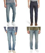 Levis 513 Slim Fit Straight Leg Jeans Mens Low Rise Five Pocket Zipper Fly Denim