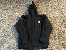 The North Face Summit Series Hooded Jacket BLACK Sz Medium Gore-Tex XCR *FLAWS*