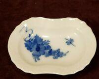Vintage Royal Copenhagen Trinket Dish Blue Flowers