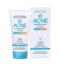 Dr.Somchai Prevents Acne Moisturizer Gel Facial Care Oil Control Whitening 50g.