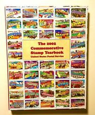 2002 Commemorative Stamp Yearbook Usps Hardcover No Stamps Included