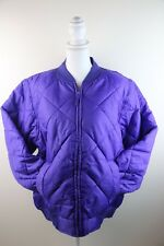 Trutus Biancarra Ladies Quilted Jacket Puffy Purple XL