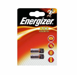New ENERGIZER 23A BATTERY ALKALINE 12V SECURITY BATTERIES MN21 A23 E23A 23 K23A