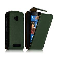 Housse coque étui pour Nokia Lumia 610 Couleur Vert Foncé