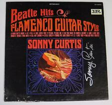 "SONNY CURTIS Signed Autograph ""Beatle Hits"" Album Vinyl LP The Beatles Related"