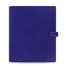 Filofax A5 Finsbury Organiser Planner Diary Electric Blue Leather -022500