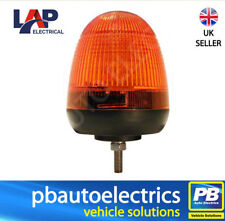 LAP LED Amber Beacon Single Point Fixing 12/24v - LMB060