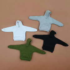 """1/12 Scale Soldier Accessories Clothes Fleece Hoodie Jackets 4 Colors F 6"""" Doll"""
