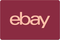 eBay Digital Gift Card - Brick Red, One Card So Many Options  - Email Delivery