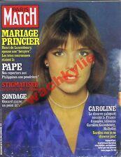 Paris Match n°1657 du 27/02/1981 Caroline de Monaco Luxembourg Sardou YSL