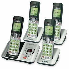 VTech CS6529-4 DECT 6.0 Phone Answering System with Caller ID/Call Waiting, 4 Co