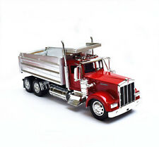 Newray 1:32 Kenworth W900 Dump Semi Metal Truck Model Black or Red