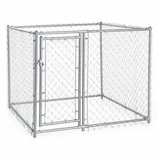 XL Chain Link Fence Outdoor Dog Run Kennel Extra Large Dogs Exercise Pet Pen