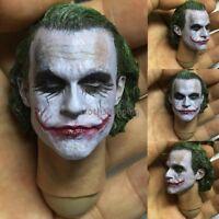 1/6 Dark Knight Joker Head Sculpt Model For 12'' Body Action Figure Hot Toys