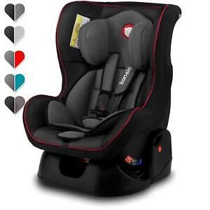 Lionelo Liam 2in1 Autokindersitz in schwarz Autositz Kindersitz Reborder Baby