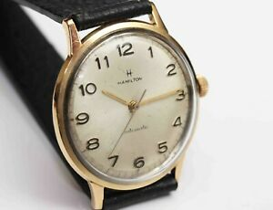 1960s vintage Hamilton Automatic Mens Wristwatch - Working Fine
