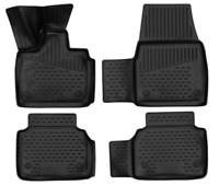 Tappetini in gomma 3D per BMW i3 2014-> 5-door 2 volumi 4 pez.