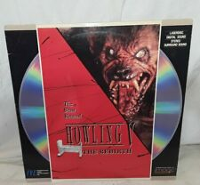 Howling V The Rebirth on Laserdisc Rare VG Condition