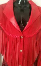 Vintage 80's Original 'Diamond Leathers El Paso' Tassled Short Jacket