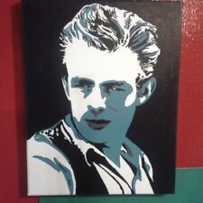 Hand-painted Custom James Dean Painting 16x20in
