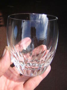"""BACCARAT 3 5/8"""" MASSENA LOWBALL GLASS crystal TUMBLER double old fashion FRANCE"""