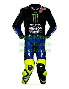 MOVISTAR VALENTINO ROSSI MOTOGB 2019 MOTORCYCLE LEATHER SUIT (TAILOR MADE)