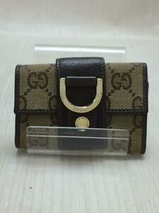 Gucci New Abbey 6 Consecutive New Abbey Gg141419 Canvas NA Key case From Japan