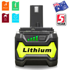 For Ryobi One + P108 18V Li-ion Battery P104 P105 P102 P103 P107 RB18L25 RB18L5