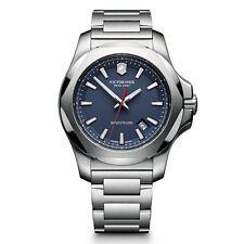 Victorinox Swiss Army INOX SS Blue 43mm 241724.1 Watch (Authorized Dealer)