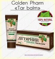 NEW Tar birch balm 50 ml.  care of problem skin prevention of eczema, psoriasis