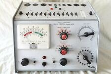 More details for taylor 45d mutual conductance valve/tube tester.manual & valve data disc.