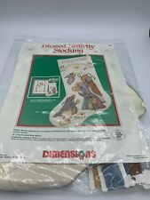 Dimensions Blessed Nativity Stocking Counted Cross Stitch Kit #8358 Karen Avery