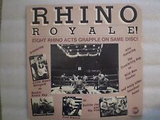 The Rhino Royale! 1978 Orig NM/EX Rhino RNLP002-Fred Blassie, Gefilte Joe, etc.