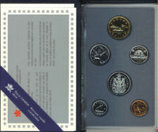 Canada 1990 Specimen Set of Canadian Coins Original Mint Packaging COA