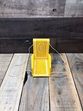 Vintage 1970 Barbie Yellow Swing Live Action House Furniture
