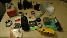 Vintage Lot of Camera Accessories Used