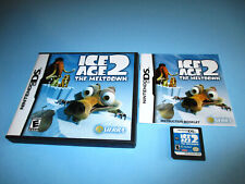Ice Age 2: The Meltdown Nintendo DS Lite DSi XL 3DS 2DS Game w/Case & Manual