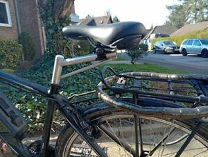 Fahrradsattel Verlängerung verschiebbar nach vorne und nach hinten