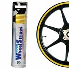 Honda CRF250 Oxford Motorcycle Pre-Curved Wheel Rim Sticker Decal Stripes Yellow