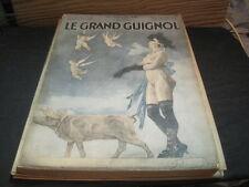 Revue GRAND GUIGNOL N°35 Noel 1926  FELICIEN ROPS