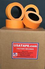 24 Rolls 2 X 60 Yrds Orange Automotive Painters Masking Tape Made In Usa