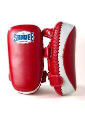 SANDEE CURVO Calcio Pad Strike Shield FOCUS IN PELLE MMA Muay Thai Kickboxing
