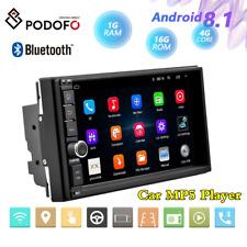 """7"""" 2DIN Android 8.1 Unidad Principal Estéreo Radio GPS Navigator Bt Para Coche Reproductor MP5 1+16G"""