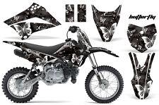 KLX110 Kawasaki Graphic Kit AMR Racing Bike Decal Sticker Kawi Part 10-13 BFLY K